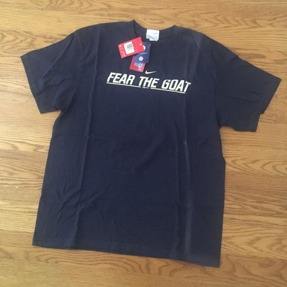 d3cf2de215e261 Vintage Nike Naval Academy Fear The Goat Shirt